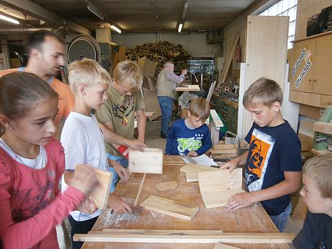 Vogelhaus bauen Schreinerei Schäfer