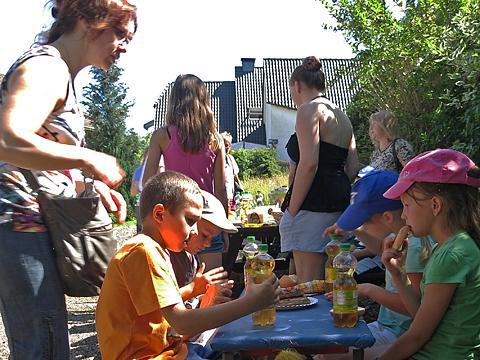 Grillen beim Heimatverein Lieberhausen