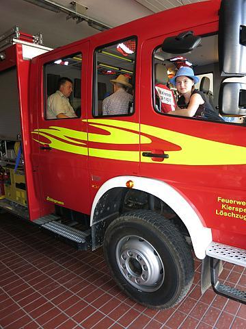 Bei der Feuerwehr in Kierspe