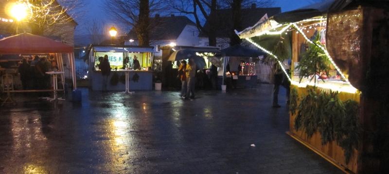 Weihnachtsmarkt Kierspe rund um die Margarethenkirche 2009