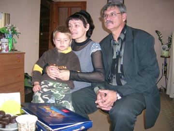Tanja und Vladimir Reschetnik mit Mark