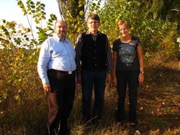 Aleksandr Levtschenko mit Gisela Steinbach und Helmut Willnat