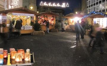 Weihnachtsmarkt in Gummersbach 2009