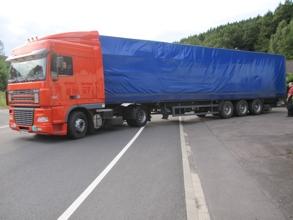 Hilfsgütertransport