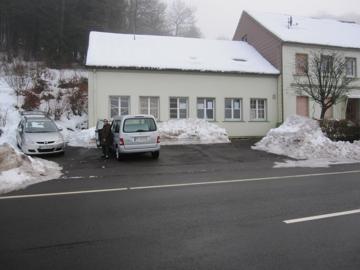 Unser Lager im Schnee