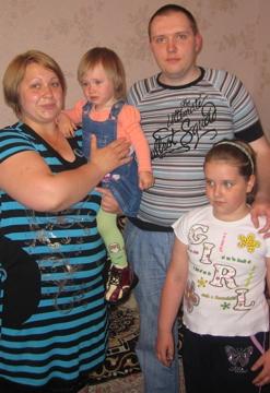Ritas Familie freut sich über die orthopädischen Schuhe