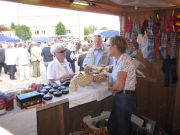Stadtfest Kierspe 2010 Infostand