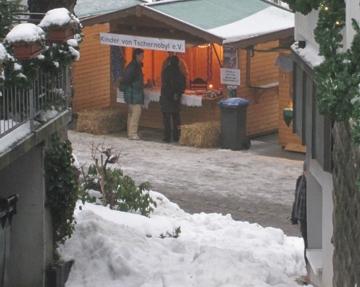 Informationsstand am Weihnachtsmarkt 2010 in Gummersbach