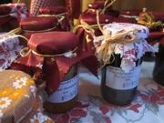 Weihnachtsmarkt 2010 in Kierspe, unsere Marmeladen