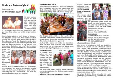 Rundbrief 2010-11
