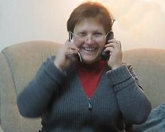 Tatjana in telefoniert
