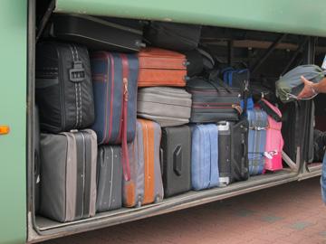 koffer nicht mitgekommen