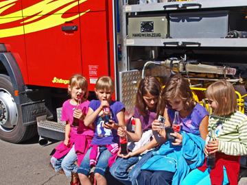 Feuerwehr Kierspe lädt Kinder von Tschernobyl ein