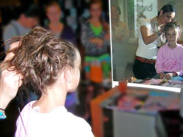 Unsere Kinder bei Haar + Trend in Marienheide