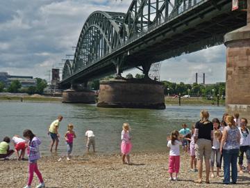 Kindergruppe in Köln