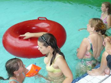 Schwimmen im Gumbala