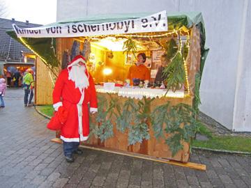 Infostand am Weihnachtsmarkt Kierspe 2010