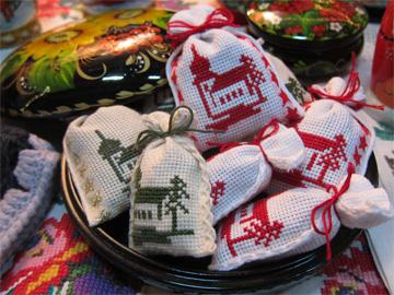 Weihnachtsmarkt in Kierspe 2011 Duftbeutel