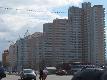 Wohntürme in Wischgorod