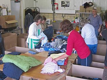Hilfsgüterannahme in Kierspe