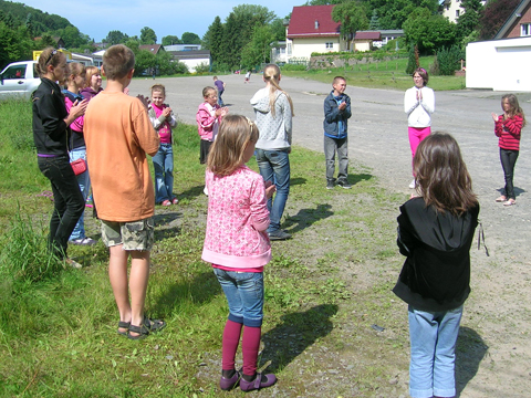 Kindergruppe in Kierspe
