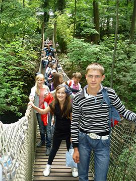 Kindergruppe im Zoo Wuppertal