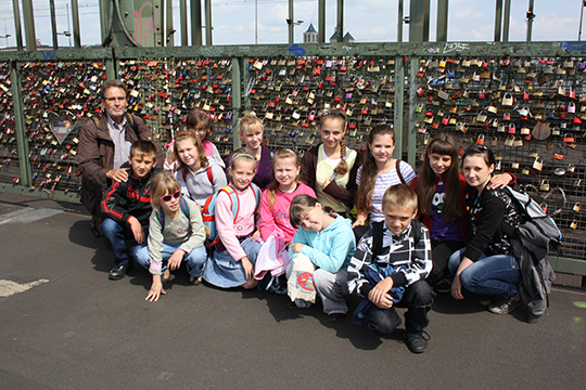 Kinder aus der Ukarine in Köln