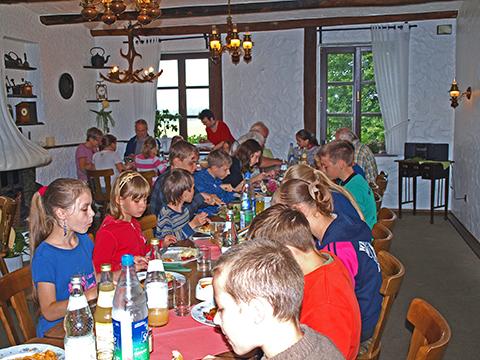 Kinder aus der Ukarine im Haus Berkenbaum