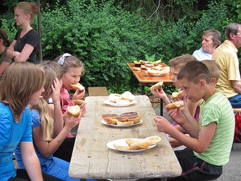 Kinder aus der Ukraine in Großfischbach