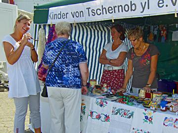 Infostand am Stadtfest Kierspe 2012