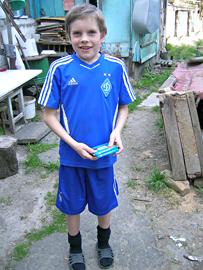 Sascha ist eins unserer Medikamentenkinder