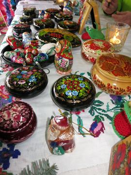 Kinder von Tschernobyl Weihnachtsmarkt 2013 Rönsahl