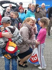 Kinder von Tschernobyl Kindererholung in Deutschland