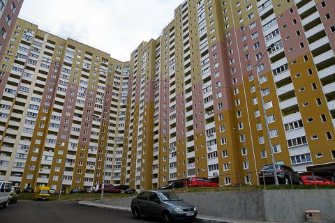 Kinder von Tschernobyl Wohnblock in Wischgorod Wyschgorod Vyshhorod