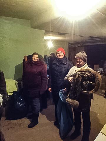 Kinder von Tschernobyl Hilfsgüterverteilung in Wischgorod