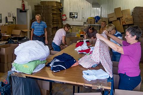 Kinder von Tschernobyl Hilfstransport