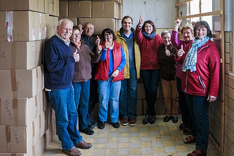 Kinder von Tschernobyl Hilfstransporte