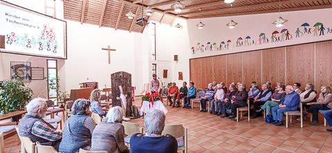Kinder von Tschernobyl Informationsvortrag ev Kirche Gummersbach Steinenbrück