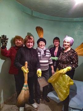 Kinder von Tschernobyl Hilfstransport Wyschgorod