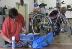 Kleine Fahrradreparaturen